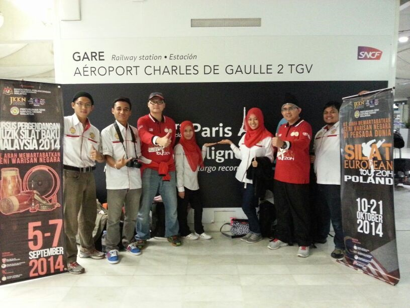 silat paris airport